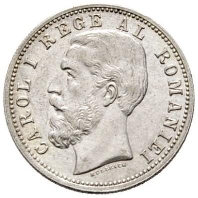50 Bani 1884 1885 Rumänien Münzen Wert Ucoinnet
