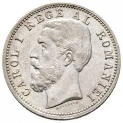 Монета > 50бани, 1884-1885 - Румъния  - obverse