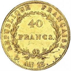 מטבע > 40פרנק, 1804-1805 - צרפת  - reverse