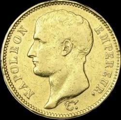 Münze > 40Franken, 1807 - Frankreich  (Old type: w/o wreath) - obverse