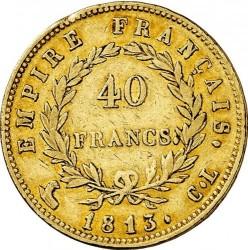 Pièce > 40francs, 1809-1813 - France  - reverse