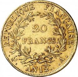 Mynt > 20francs, 1803 - Frankrike  - reverse
