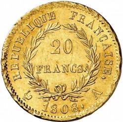 Münze > 20Franken, 1807-1808 - Frankreich  - reverse