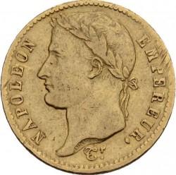 Coin > 20francs, 1809-1814 - France  - obverse