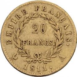 Coin > 20francs, 1809-1814 - France  - reverse