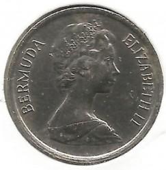 Moeda > 10cêntimos, 1984 - Bermudas  - reverse