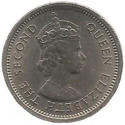 Monēta > 10centu, 1955-1965 - Austrumkarību valstis  - reverse