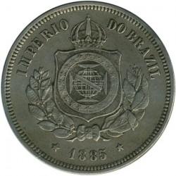Монета > 100рейса, 1871-1885 - Бразилия  - obverse