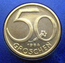 سکه > 50گروشن, 1984 - اتریش   - obverse