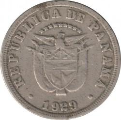 Moneta > 5sentesimų, 1929-1932 - Panama  - obverse