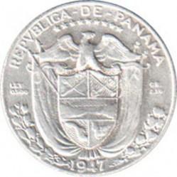 Moneta > 1/10balboa, 1930-1947 - Panama  - obverse