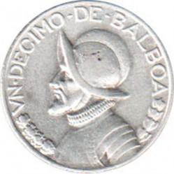 Moneta > 1/10balboa, 1930-1947 - Panama  - reverse