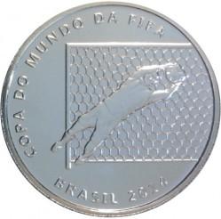 Moneta > 2reale, 2014 - Brazylia  (Mundial 2014 - Obrona bramkarza) - obverse
