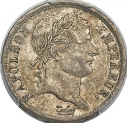 מטבע > 2פרנק, 1807-1808 - צרפת  - obverse
