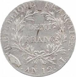 Münze > ½Franken, 1803-1805 - Frankreich  - reverse