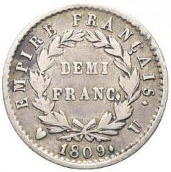 Münze > ½Franken, 1809-1814 - Frankreich  - reverse