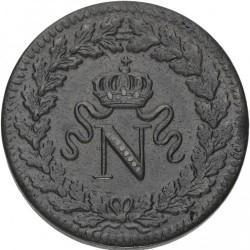 Münze > 1Décime, 1814-1815 - Frankreich  - obverse