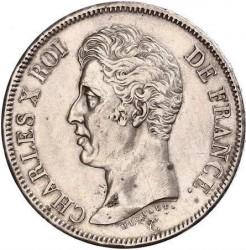 Coin > 5francs, 1824-1826 - France  - obverse