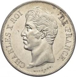 العملة > ٥فرنك, 1827-1830 - فرنسا  - obverse