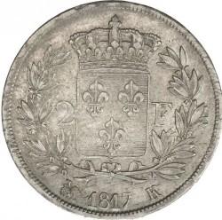 Moneta > 2franki, 1816-1824 - Francja  - reverse