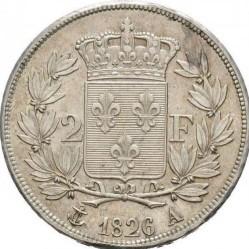 מטבע > 2פרנק, 1825-1830 - צרפת  - reverse