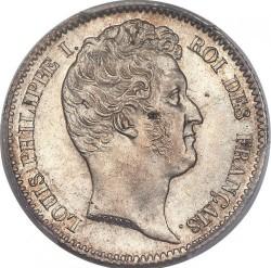 מטבע > 1פרנק, 1831 - צרפת  - obverse