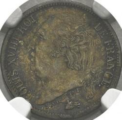 Moneta > ½franco, 1816-1824 - Francia  - obverse