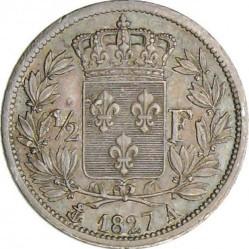 العملة > ½فرنك, 1825-1830 - فرنسا  - reverse