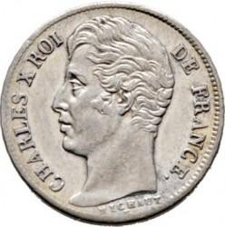 العملة > ½فرنك, 1825-1830 - فرنسا  - obverse