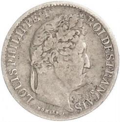 العملة > ½فرنك, 1831-1845 - فرنسا  - obverse