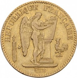 מטבע > 20פרנק, 1848-1849 - צרפת  - obverse