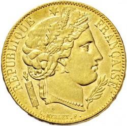 Minca > 20francs, 1849-1851 - Francúzsko  - obverse