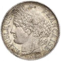 Minca > 1frank, 1849-1851 - Francúzsko  - obverse