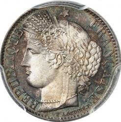 Minca > 50centimes, 1849-1851 - Francúzsko  - obverse