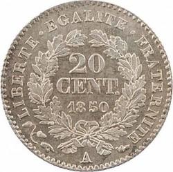 Pièce > 20centimes, 1849-1851 - France  - reverse