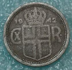 سکه > 25آورار, 1942 - ایسلند  - obverse