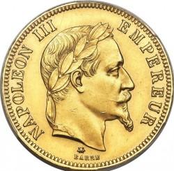 Moneta > 100franków, 1862-1870 - Francja  - obverse