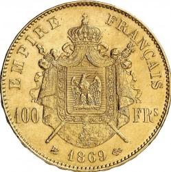 Moneta > 100franchi, 1862-1870 - Francia  - reverse