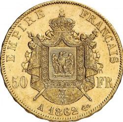 Moneta > 50franków, 1862-1868 - Francja  - reverse