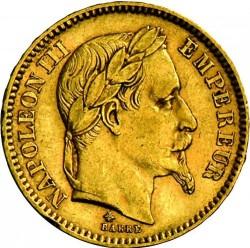 מטבע > 20פרנק, 1861-1870 - צרפת  - obverse