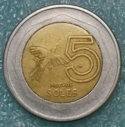 Moneta > 5naujiejisolai, 2005 - Peru  - reverse