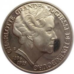Moneta > 5ECUs, 1996 - Lussemburgo  (Charlotte) - reverse