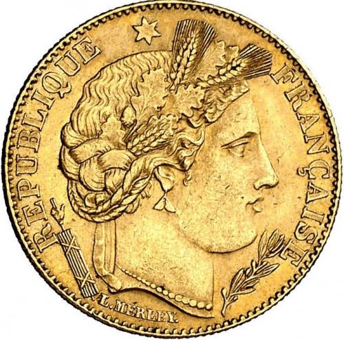 10 Franken 1895 1899 Frankreich Münzen Wert Ucoinnet