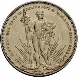 Moneta > 5franchi, 1879 - Svizzera  (Festival del Tiro di Basilea) - obverse