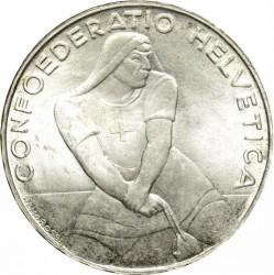 Moneta > 5franchi, 1939 - Svizzera  (600° Anniversario - Battaglia di Laupen) - obverse