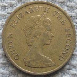Moneta > 10centų, 1982-1984 - Honkongas  - reverse