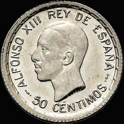 العملة > 50سنتيمو, 1926 - إسبانيا  - obverse