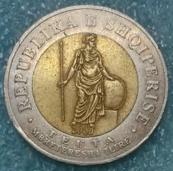 Кованица > 100лека, 2000 - Албанија  - obverse