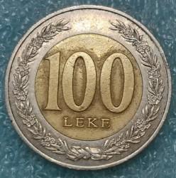 Moneta > 100lekų, 2000 - Albanija  - reverse