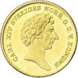Մետաղադրամ > 1դուկատ, 1835-1843 -  Շվեդիա  - obverse